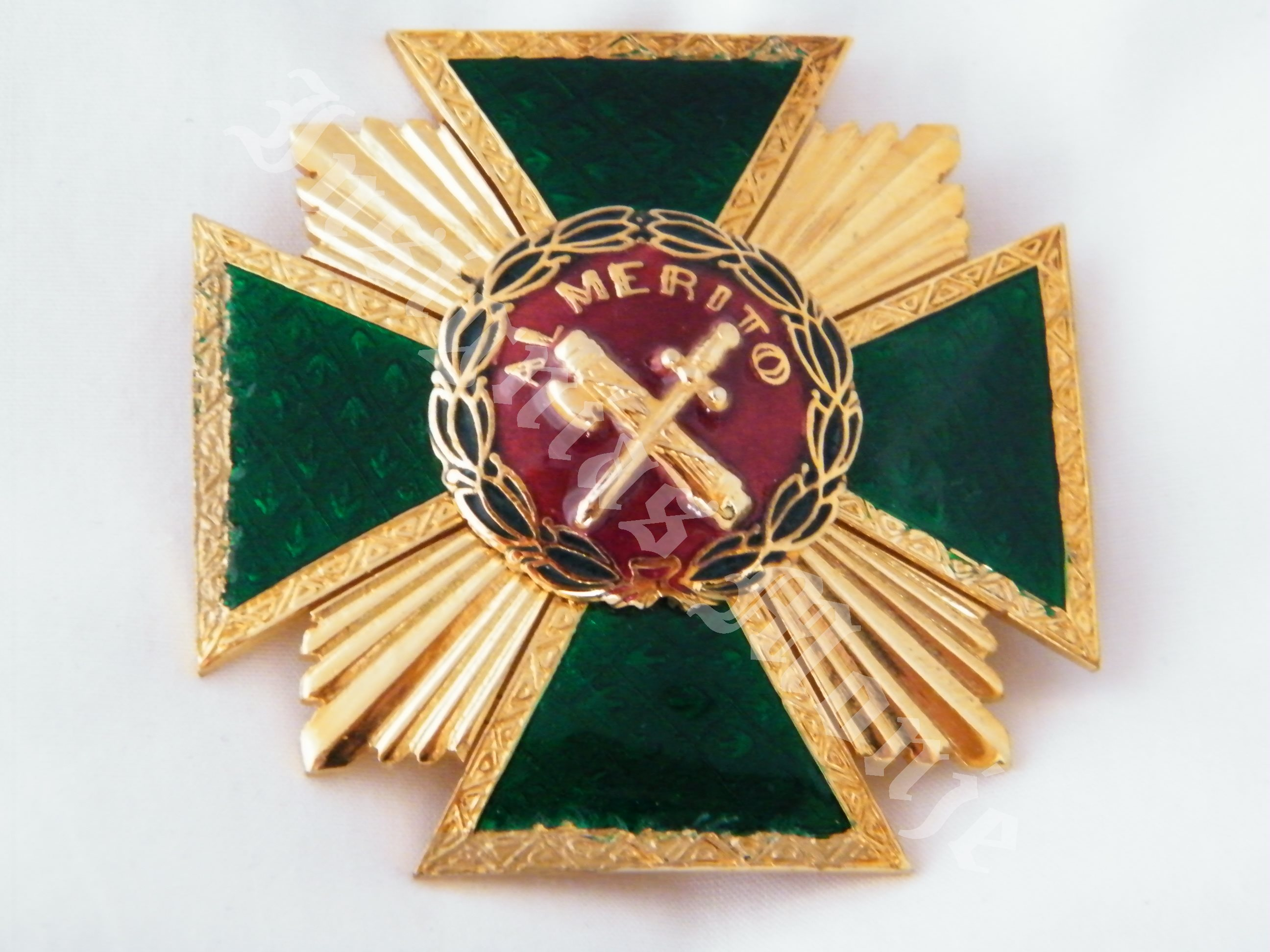 PLACA MERITO GUARDIA CIVIL DISTINTIVO ROJO